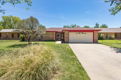 Amarillo Single Family Home For Sale: 5219 Westway Trl