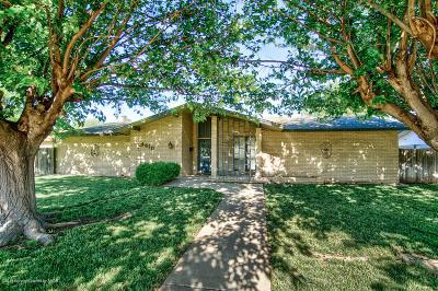 Amarillo Single Family Home For Sale: 4610 Georgia St