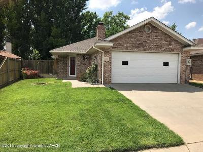 Randall Single Family Home For Sale: 5706 Laguna Dr