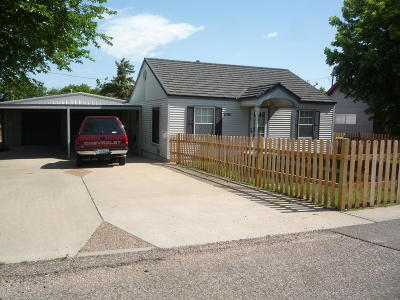 Borger Single Family Home For Sale: 1104 Minnesota St