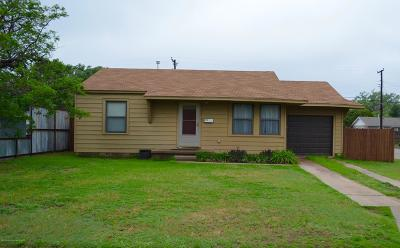 Amarillo Single Family Home For Sale: 4100 Cline Rd