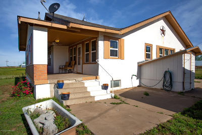 Carson County Single Family Home For Sale: 205 Co Rd Aa