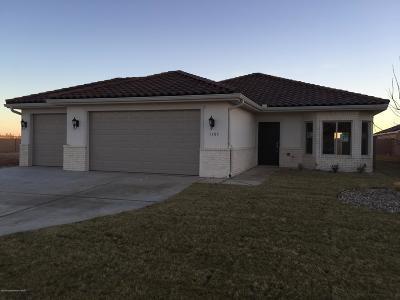 Amarillo Single Family Home For Sale: 1105 Syrah Blvd