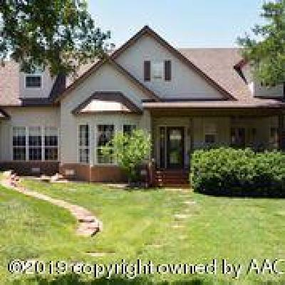 Amarillo Single Family Home For Auction: 136 Bay Rock Cir