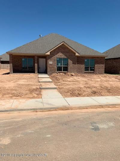 Amarillo Single Family Home For Sale: 9208 Heritage Hills Pkwy