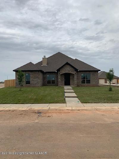 Amarillo Single Family Home For Sale: 9307 Westin