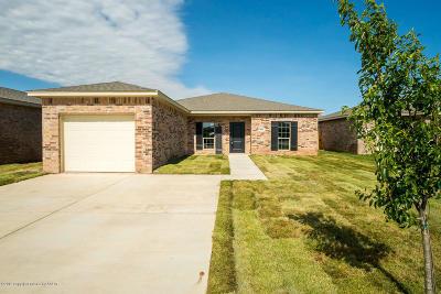 Amarillo Single Family Home For Sale: 5004 Hawken St