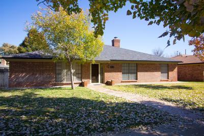 Potter County, Randall County Single Family Home For Sale: 7828 Cervin Dr
