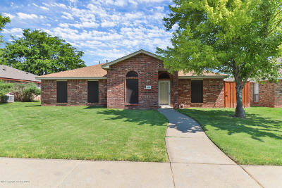 Amarillo Single Family Home For Sale: 4208 Rondo Ave