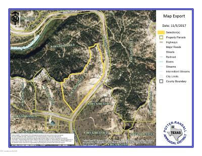 Amarillo Residential Lots & Land For Sale: 16100 Canyon Pass Rd