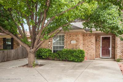 Amarillo Condo/Townhouse For Sale: 5916 Campus Dr