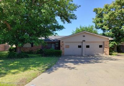 Fritch Single Family Home For Sale: 302 Overland Trl