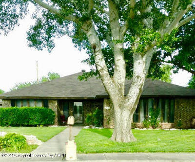 Amarillo Single Family Home For Sale: 8617 Olympia
