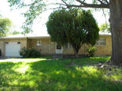 Amarillo Single Family Home For Sale: 3615 Rusk St