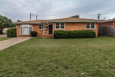 Amarillo Single Family Home For Sale: 3501 Lynette Dr