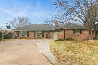 Amarillo Single Family Home For Sale: 3104 Harmony St