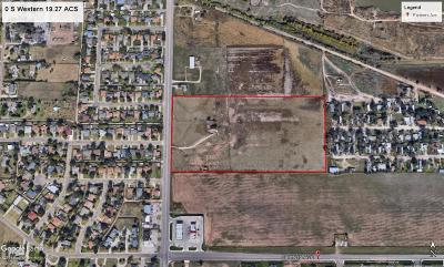Amarillo Residential Lots & Land For Sale: Western St