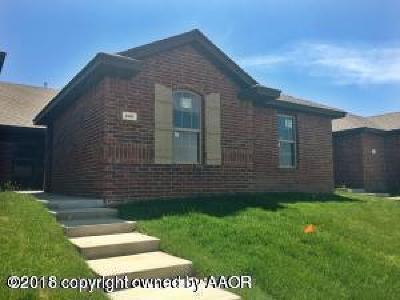 Amarillo Single Family Home For Sale: 4505 Katharina Ct
