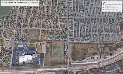 Amarillo Residential Lots & Land For Sale: S Loop 335 (Hollywood)