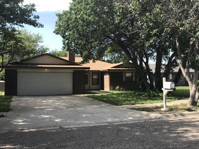 Amarillo Single Family Home For Sale: 5807 Purdue St