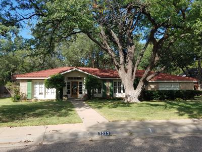 Amarillo Single Family Home For Sale: 3222 Crockett St