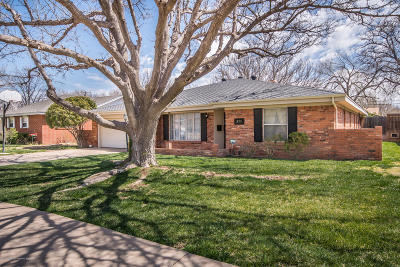 Amarillo Single Family Home For Sale: 3715 Clearwell St