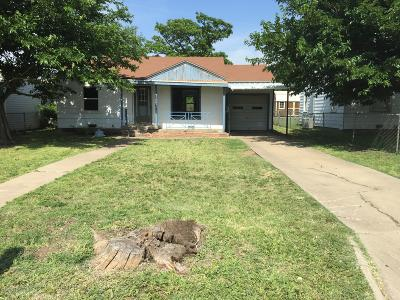 Amarillo Single Family Home For Sale: 1303 Grant St
