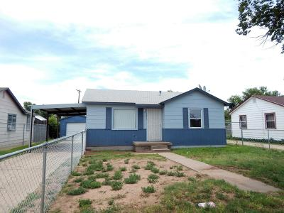 Amarillo Single Family Home For Sale: 1013 Ricks St