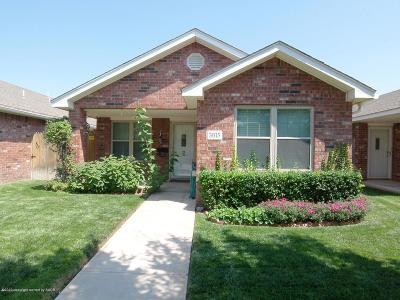 Amarillo Condo/Townhouse For Sale: 3615 Mirror St