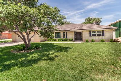 Amarillo Single Family Home For Sale: 3414 Rutson Dr