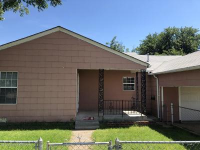 Borger Single Family Home For Sale: 1107 Illinois St