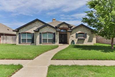 Randall County Single Family Home For Sale: 8421 Addison Dr