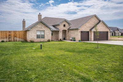Amarillo Single Family Home For Sale: 15125 Let It Be Dr