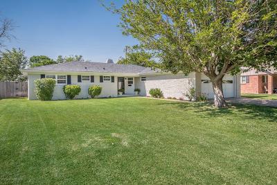 Amarillo Single Family Home For Sale: 6107 Hanson Rd