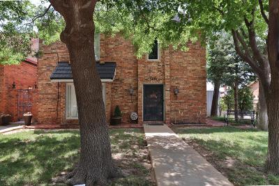 Amarillo Condo/Townhouse For Sale: 3420 Gladstone Ln