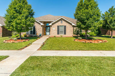 Amarillo Single Family Home For Sale: 8308 Vail Dr
