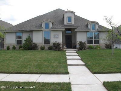 Amarillo Single Family Home For Sale: 7307 Columbus Dr