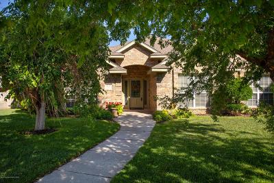 Amarillo Single Family Home For Sale: 6416 Persimmon Ln