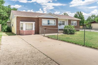 Amarillo Single Family Home For Sale: 2921 Seminole St