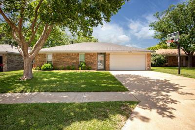Amarillo Single Family Home For Sale: 8110 Santa Fe Trl