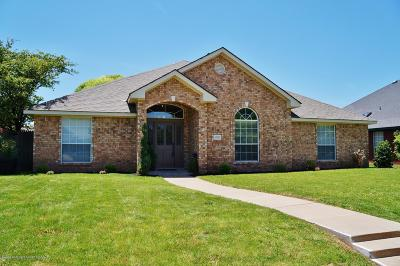 Amarillo Single Family Home For Sale: 6829 Glenoak Ln
