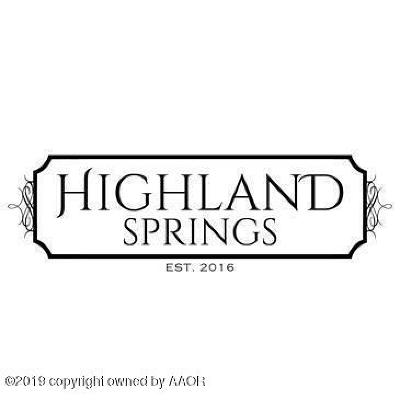 Amarillo Residential Lots & Land For Sale: 9301 Barton Springs Dr
