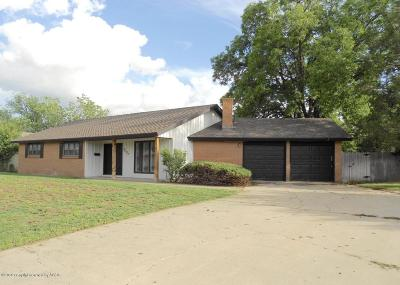 Amarillo Single Family Home For Sale: 7007 Dreyfuss Rd