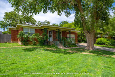 Amarillo Single Family Home For Sale: 3802 Westlawn Ave