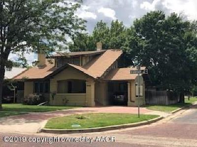 Amarillo Single Family Home For Sale: 2100 Harrison St