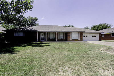 Amarillo Single Family Home For Sale: 3904 Fleetwood Dr
