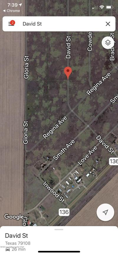 Amarillo Residential Lots & Land For Sale: David St