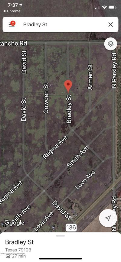 Amarillo Residential Lots & Land For Sale: Bradley St