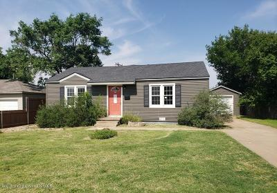 Potter County Single Family Home For Sale: 1818 Austin St