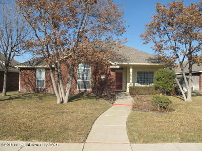 Amarillo Single Family Home For Sale: 7106 Glenoak Ln